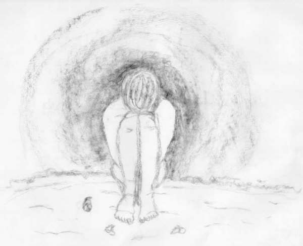 Para dibujar a lapiz de amor triste  Imagui