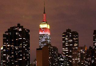 Luces en el Empire State
