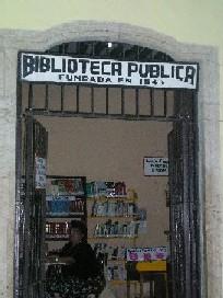 Biblioteca Valladolid (Mejico).