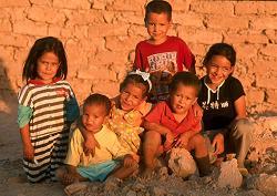 Niños de arena.