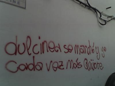 Escrito en una pared del Sur...