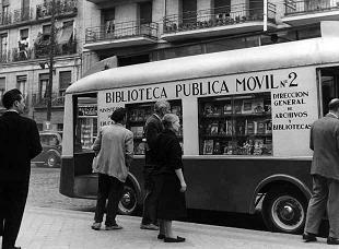 Biblioteca pública Madrid