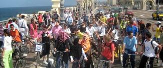 Egipto, bicicletas y mujeres.