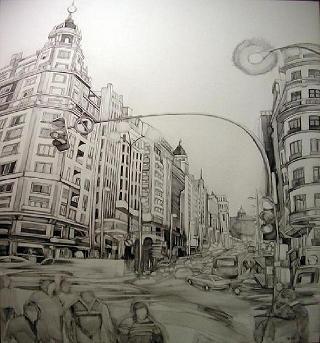 Gran Vía, Madrid 100 años.