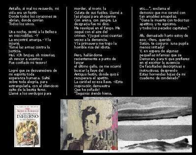 Una temporada en el infierno. Arthur Rimbaud.